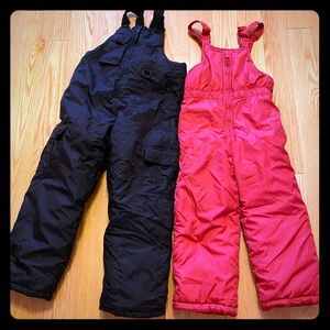 Two Youth Bib Overalls